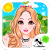 Xinyi Xu - Head Grass Girl - Fashion Makeup, Dress up and Makeover Games for Girls and Kids アートワーク