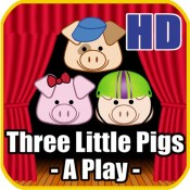 Three Little Pigs - A Play HD