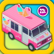 Kids Vehicles: Dora Ice Cream Truck! Counting Game