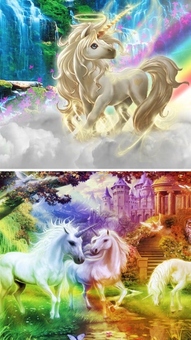 Rainbow Unicorn Wallpapers HD - Cool Pony Horses App Download - Android APK
