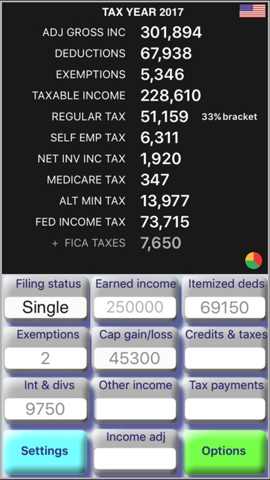 TaxMode - USA Income Tax Calculator na App Store - income tax calculator
