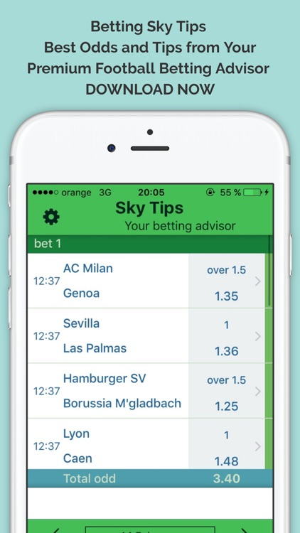 Betting Sky Tips Premium - Best Odds and Advices from Your