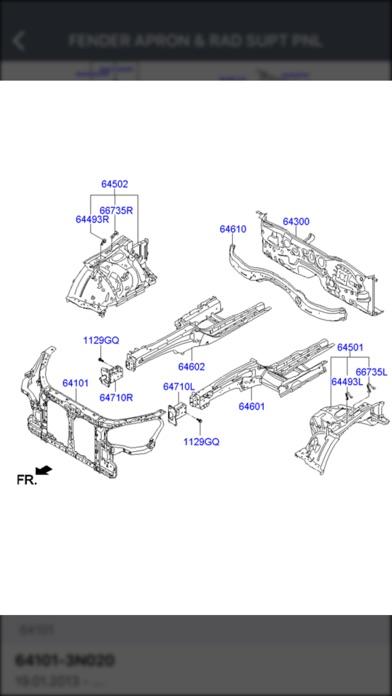 Hyundai Car Parts - ETK Parts Diagrams App Report on Mobile Action