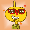 Ayan Nurmaganbetov - Funny Onion  - Stickers for iMessage アートワーク