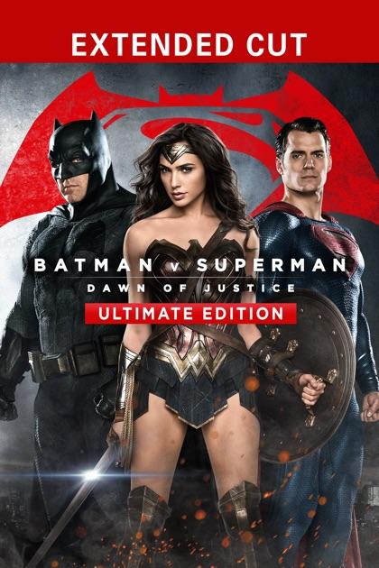 Batman v Superman: Dawn of Justice (Ultimate Edition) - Zack Snyder
