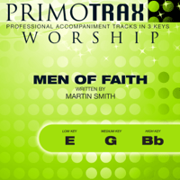 Men of Faith (Low Key: E - Performance Backing track) Primotrax Worship MP3
