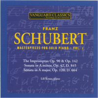 Impromptus, Op. 142, No. 1 in F Minor, Allegro moderato Lili Kraus