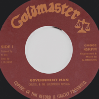 Government Man Goldmaster Allstars