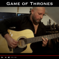 Game of Thrones Main Theme (Instrumental 12 Strings) Christophe Deremy