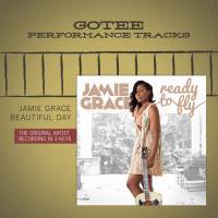 Beautiful Day (Medium Key Performance Track Without Background Vocals) Jamie Grace song
