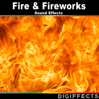Large Fireworks with Finale Ovation Digiffects Sound Effects Library