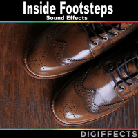 Footsteps on Floor Version 3 Digiffects Sound Effects Library MP3