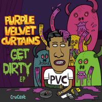 Side Chick Purple Velvet Curtains MP3