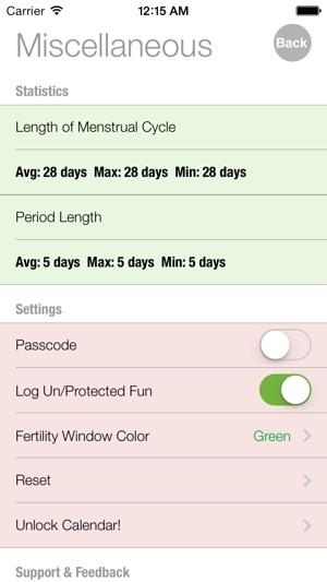 Ovulation and Pregnancy Calendar (Fertility Calculator, Gender