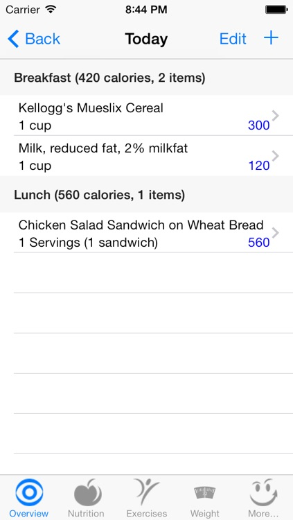 CalorieSmart Calorie Counter, Nutrition Tracker, Diet and Fitness