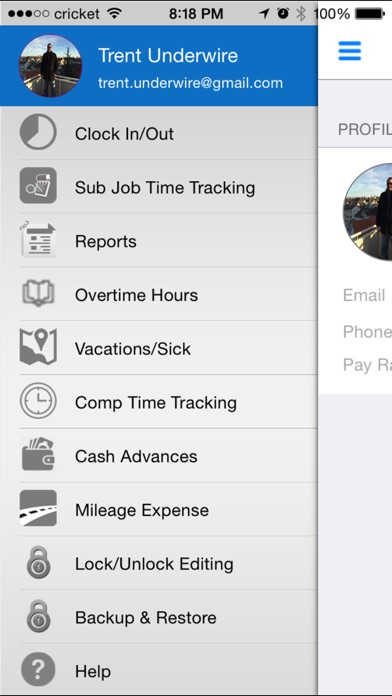 iTimePunch Work Time Clock for Hourly Employee Timesheet Tracking