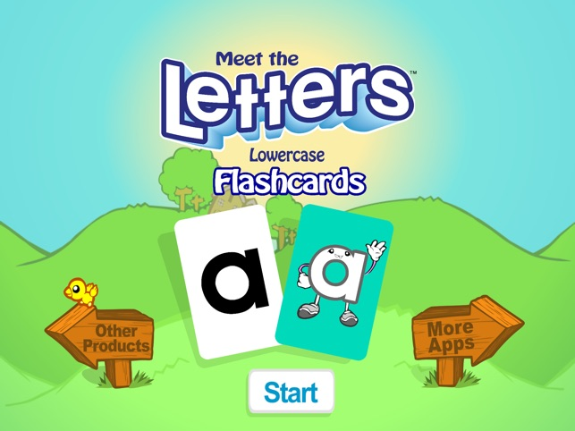 Meet the Letters Flashcards \u2013 Lowercase on the App Store