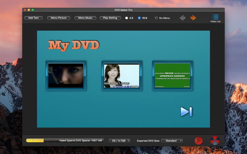 DVD Maker Pro-DVD Creator Burn App Price Drops