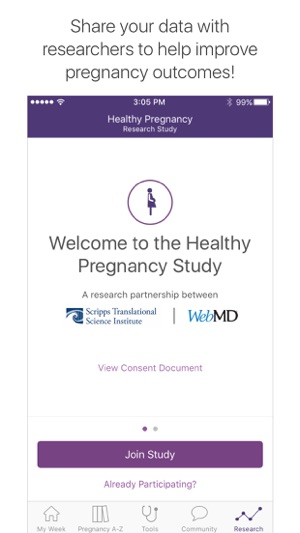 WebMD Pregnancy on the App Store