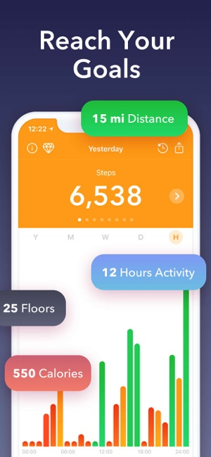 Stepz - Step Counter  Tracker on the App Store