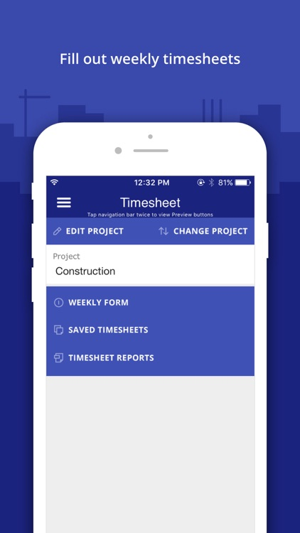 Timesheet Manager App by Snappii