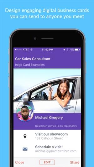 Inigo - Digital Business Cards on the App Store