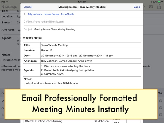 Meeting Notepad - AppRecs - meeting note pad