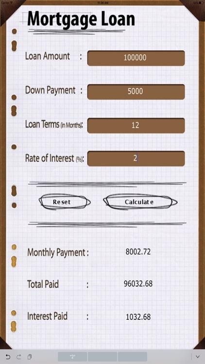 Home Loan Calc HD by Egate IT Solutions Pvt Ltd