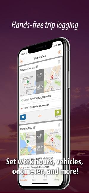 Auto Mileage Tracker Log on the App Store - free mileage app