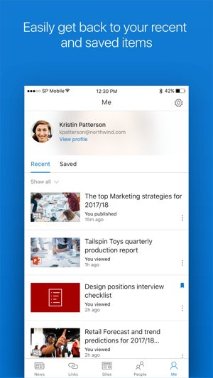 Microsoft SharePoint on the App Store - microsoft sharepoint