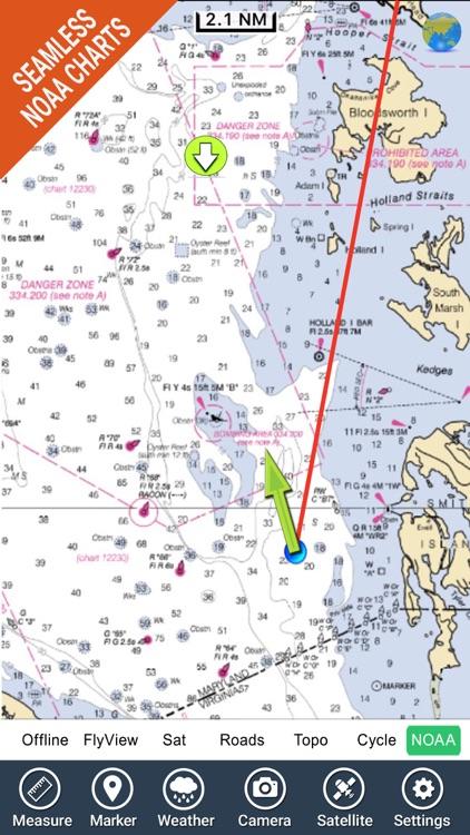 Chesapeake Bay HD - GPS Charts by Flytomap
