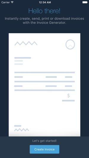 Invoice Generator - Zoho on the App Store