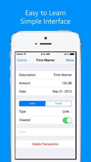 Balance My Checkbook on the App Store