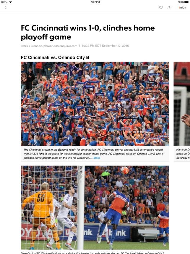 FC Cincinnati Soccer on the App Store