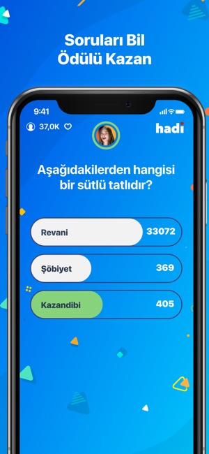 Hadi - Bilgi Yarışması on the App Store