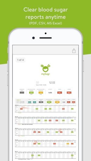 mySugr Diabetes Tracker Log on the App Store