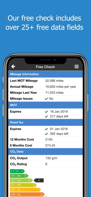 Total Car Check on the App Store - free mileage app