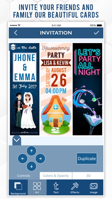 Related Apps Invitation Maker by Greetings Island - by Greetings