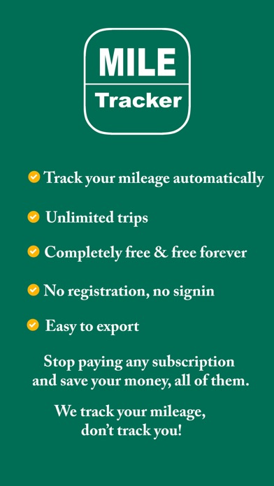 Mile Tracker  mileage logger - by xin xu - Finance Category - 26