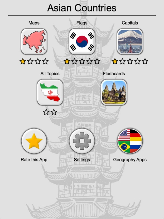 Asian Countries  Middle East - Flags and Capitals App Price Drops