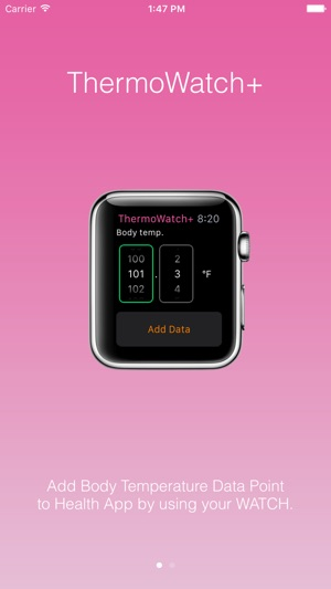 ThermoWatch+ for Apple Watch Add Body Temperature on the App Store