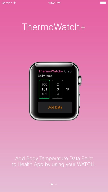 ThermoWatch+ for Apple Watch Add Body Temperature by Airwire products