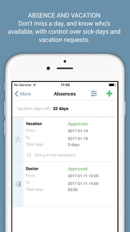 24onoff Time Tracker by 24onoff - vacation tracker app