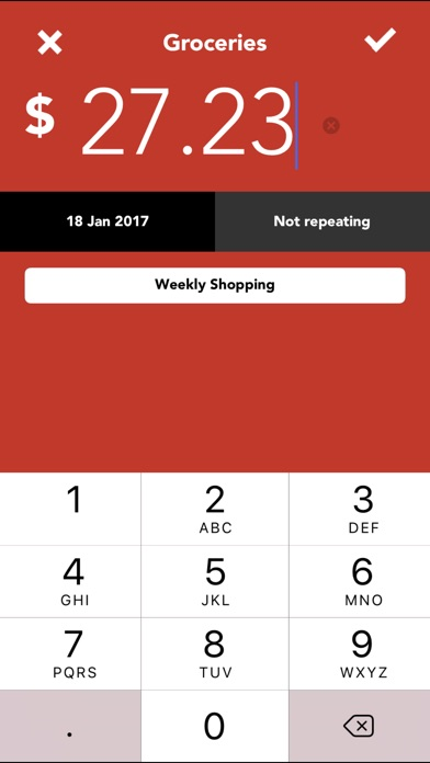Track My Spending - Money Tracker App Price Drops