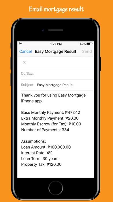 Easy Mortgage - Loan Calculator - by Steven Go - Finance Category
