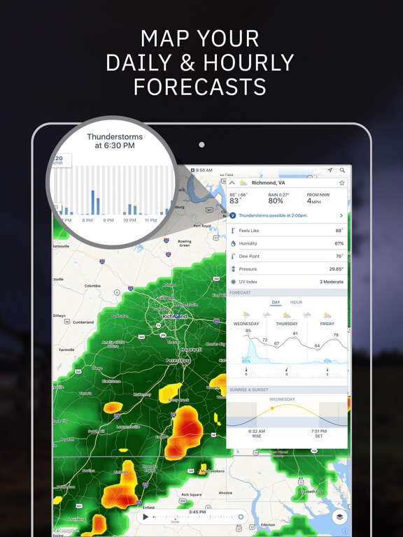 weather channel app for iphone 4s