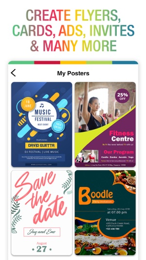 Poster Maker - Flyer Designer! on the App Store
