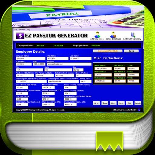 Paystub Calculator Maker by ChristApp, LLC
