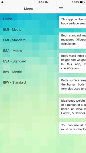 Body Calculator - BMI, BSA, Ideal Body Weight on the App Store - bmi calculation formula