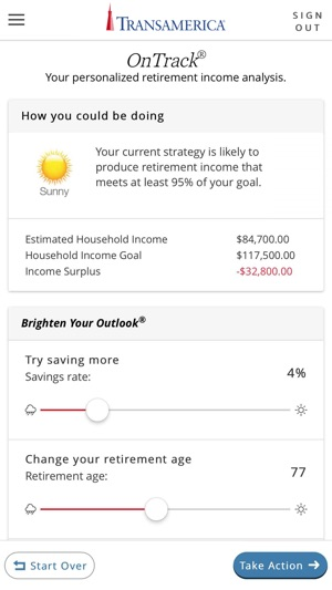 My TRSRetire on the App Store - transamerica retirement solutions